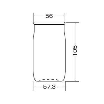 PU56 清酒カップ180 FG