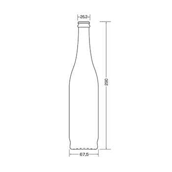 C27 ジュース500丸 FG