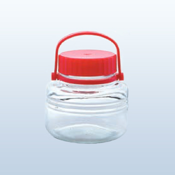 ペットボトル型貯蔵びん 低型貯蔵びん2リットルまめ丸くん