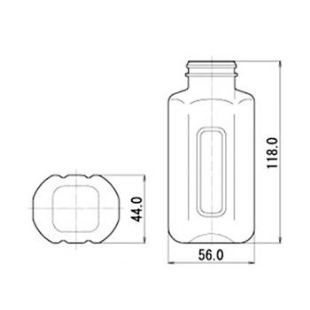 M-PET180F 扁平