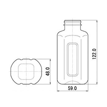 M-PET220F 扁平
